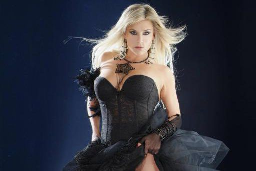 La chanteuse Samantha Fox.... (Photo fournie)