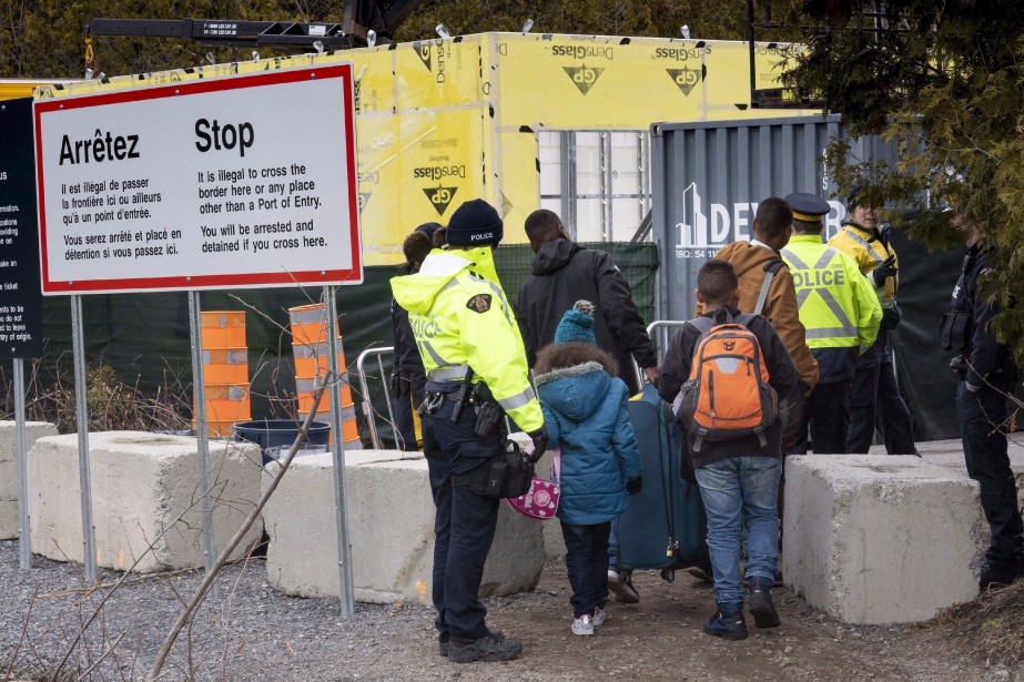 La plupart des participants ont affirmé que l'immigration... (Photo Paul Chiasson, Archives La Presse Canadienne)