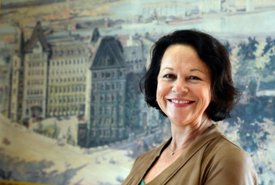 (Québec) Gestionnaire de choc du réseau de la santé, GertrudeBourdon