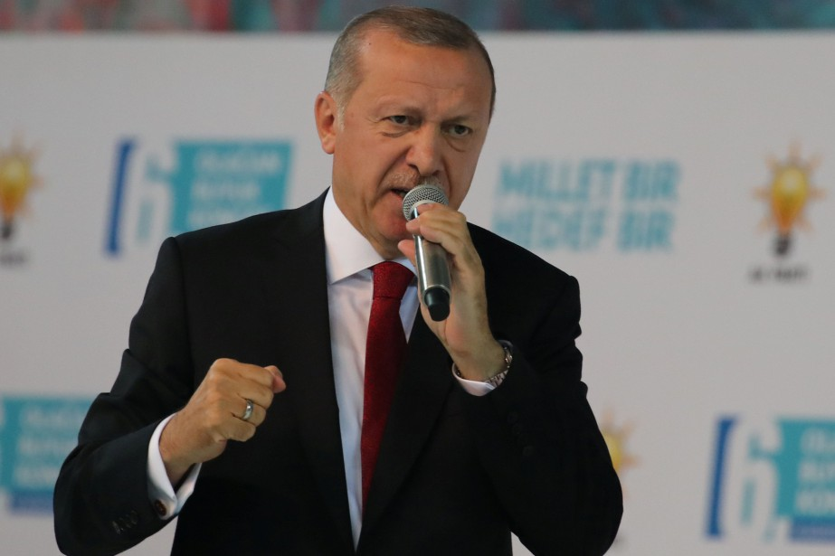 Le président turc Recep Tayyip Erdogan... (PHOTO Umit Bektas, REUTERS)