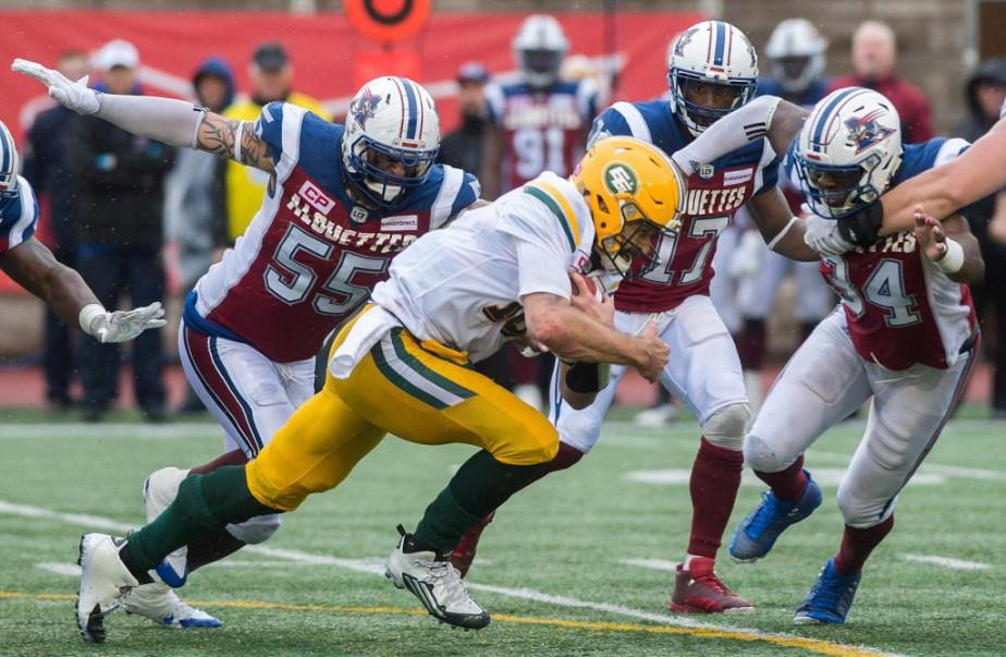 Les Alouettes auront une lourde commande sur les... (PhotoGraham Hughes, Archives La Presse canadienne)
