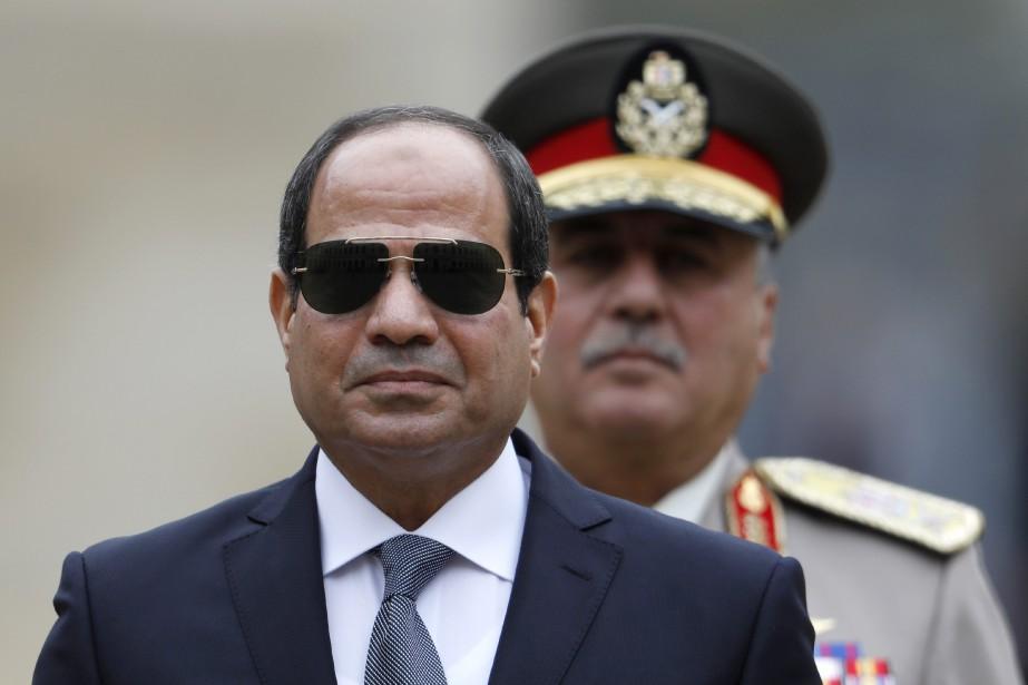 Le président égyptien Abdel Fattah al-Sissi... (PHOTO ARCHIVES AP)