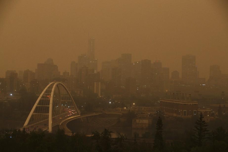 Les prévisions météorologiques, des vents de 20 à... (Photo Jason Franson, La Presse canadienne)