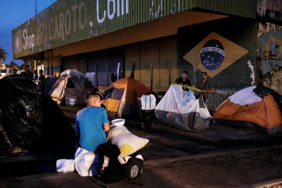 L'arrivée massive de Vénézuéliens fuyant la crise politique... (Photo Nacho Doce, Reuters)