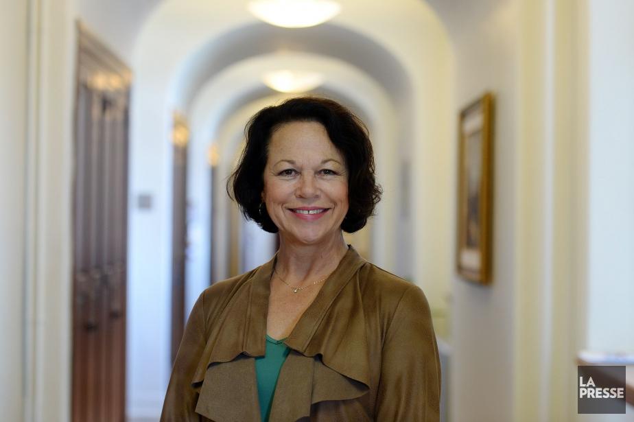 GertrudeBourdon,directrice du CHU de Québec, en 2016... (Archives La Presse)
