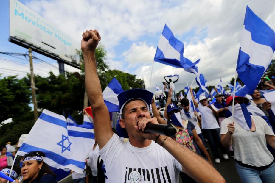 «Nous allons maintenir la pression malgré la répression.... (Photo Inti Ocon, Agence France-Presse)