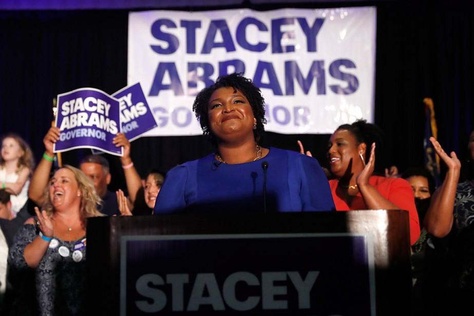 En Géorgie, la démocrate Stacey Abrams essaiera de... (PHOTO JOHN BAZEMORE, ARCHIVES ASSOCIATED PRESS)