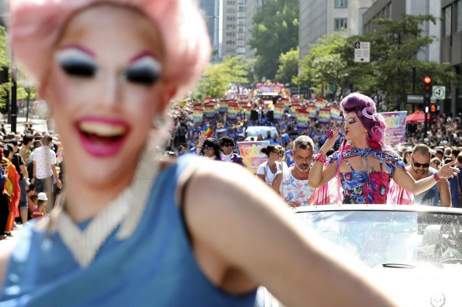 Les célébrations du Festival Fierté Montréal se sont déroulées dimanche après-midi dans le centre-ville. | 19 août 2018