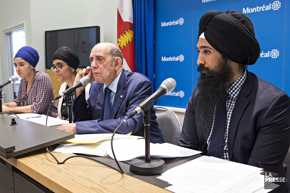Le président de la World Sikh Organisation of... (Photo Patrick Sanfacon, La Presse)
