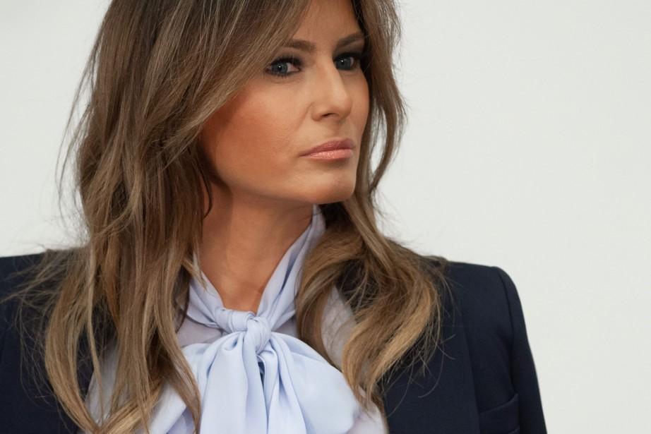 Melania Trump... (PHOTO AFP)