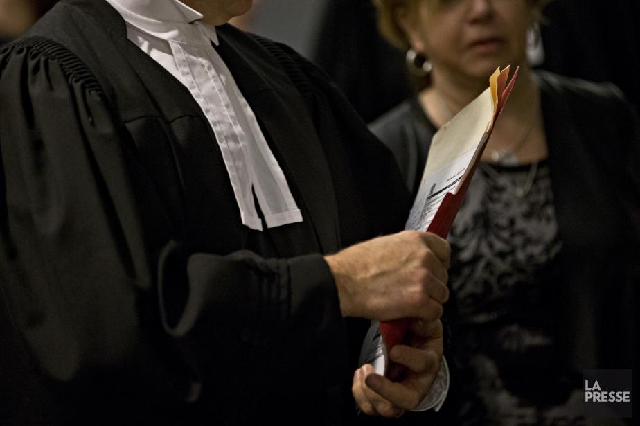 Pendant que le nombre d'avocats a crû de... (Photo Patrick Sanfaçon, archives La Presse)
