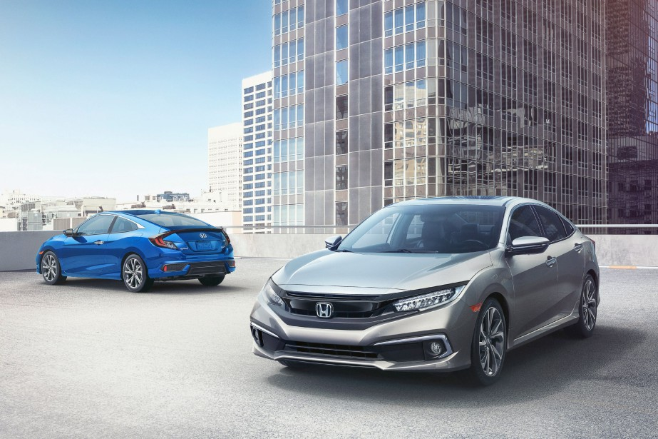 Honda Civic berline et coupé 2019.... (photo honda)