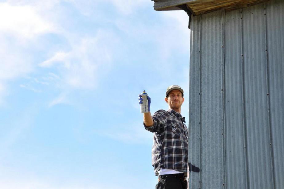 Alex Scaner,graffiteur, peintre et sculpteur... (Photo fournie par Karine Rogers)