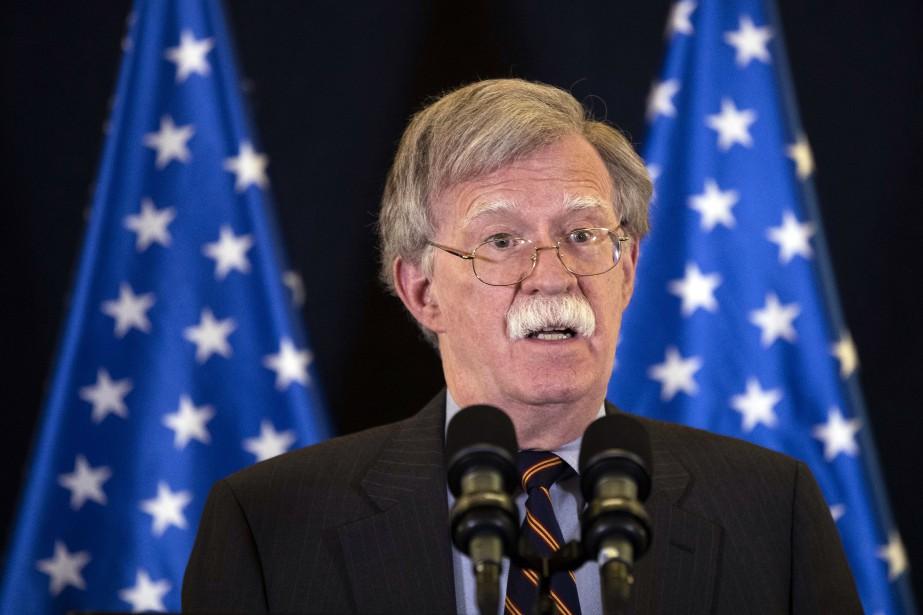 «Pour être clairs, la politique américaine n'est pas... (AP)