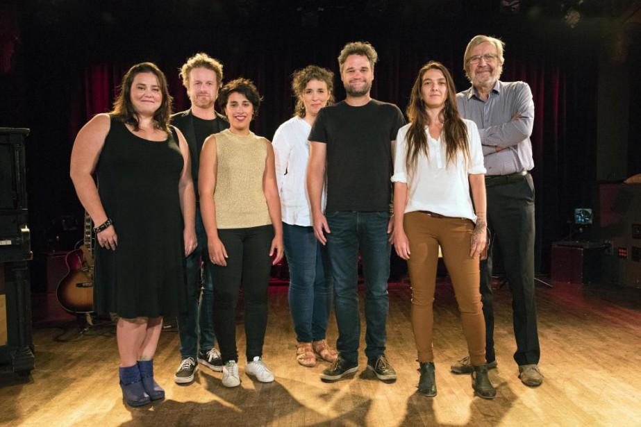 Amélie Prévost, Tristan Malavoy, Queen K, Jennifer Tremblay,... (Photo Robert Skinner, La Presse)