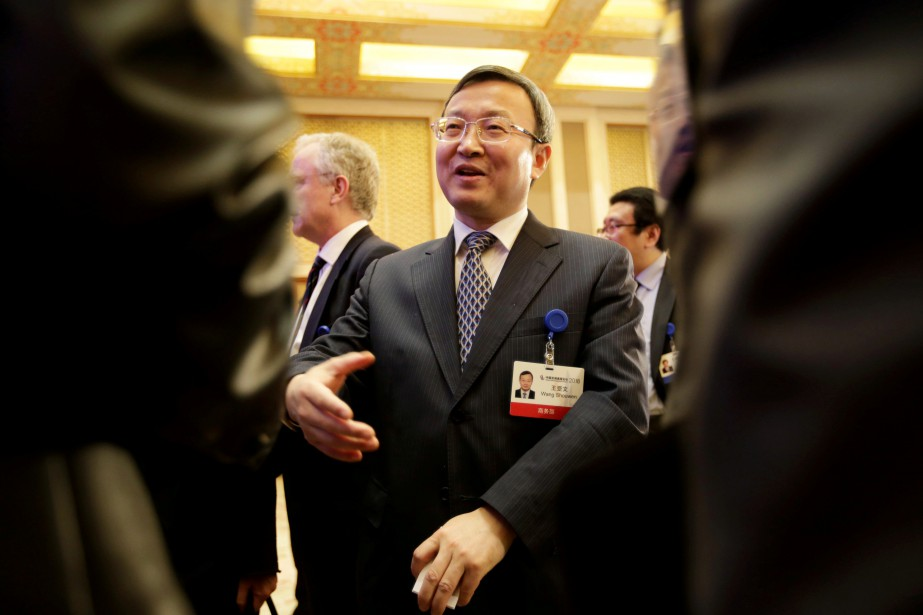 Le vice-ministre du Commerce de la Chine, Wang... (Photo Jason Lee, archives REUTERS)
