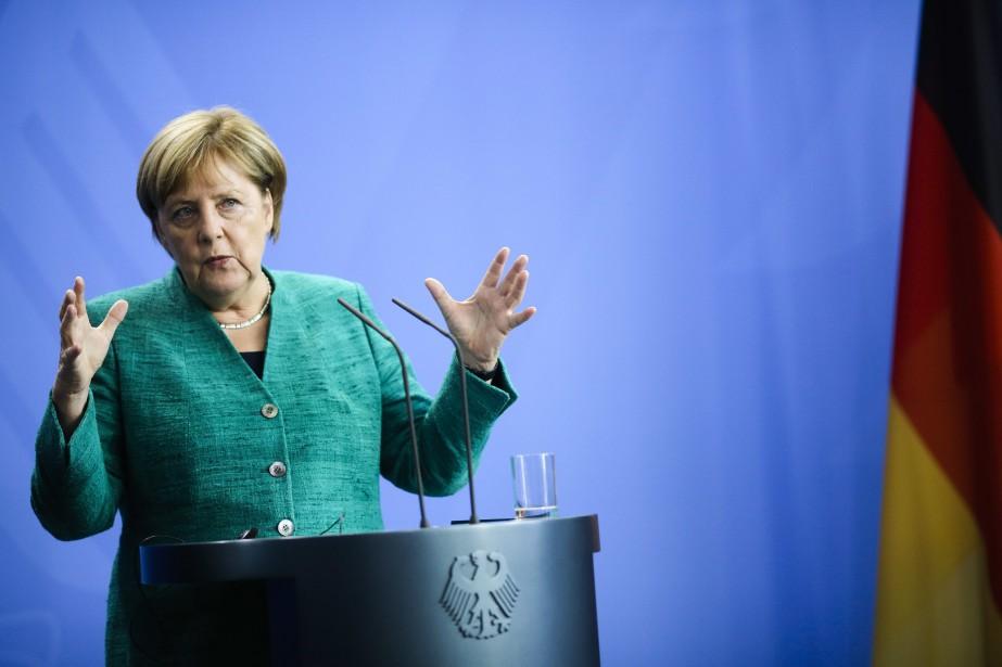 La chancelière estime que ce poste est plus... (Photo Markus Schreiber, Associated Press)
