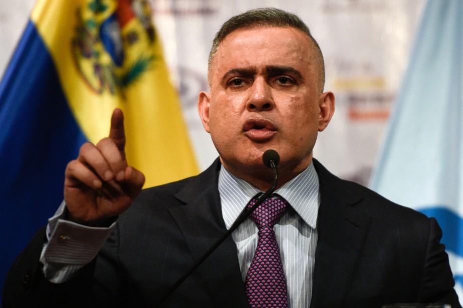 Le procureur général du Venezuela, Tarek William Saab.... (PHOTO AFP)