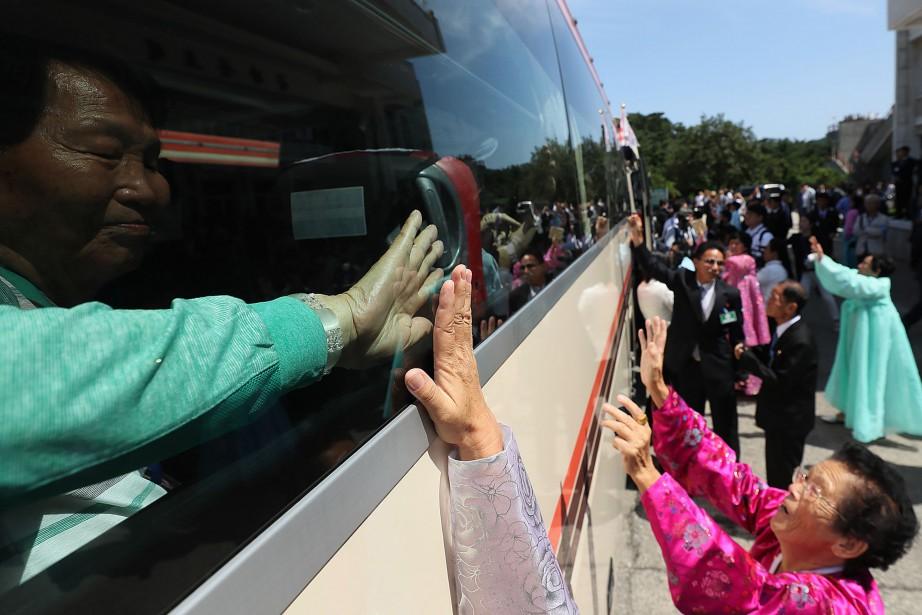 Une fois que tous les Sud-Coréens étaient à... (PHOTO AFP)