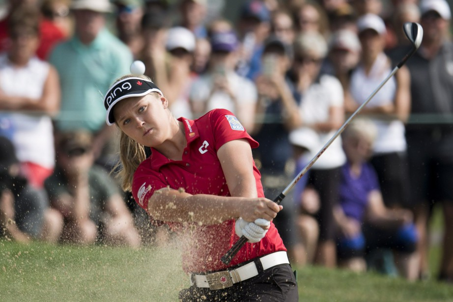 Brooke Henderson... (Photo Jonathan Hayward, PC)