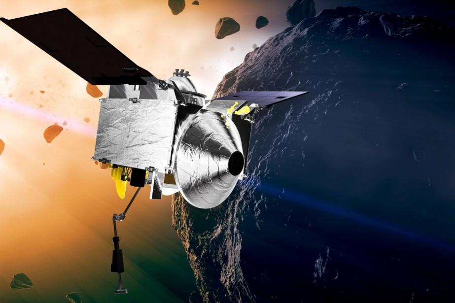 La sonde se trouve encore à 2,2millions de... (Photo fournie par la NASA)