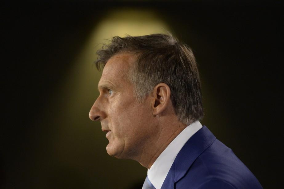 Maxime Bernier veut courtiser les électeurs désabusés, ceux... (Photo Adrian Wyld, archives PC)