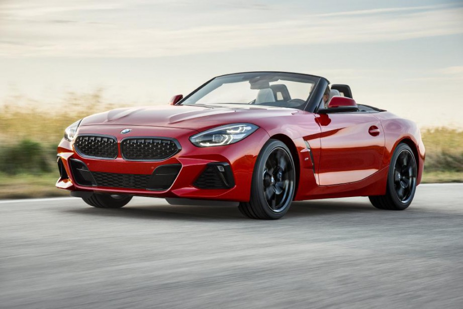 Le Z4 de BMW... (Photo fournie par BMW)