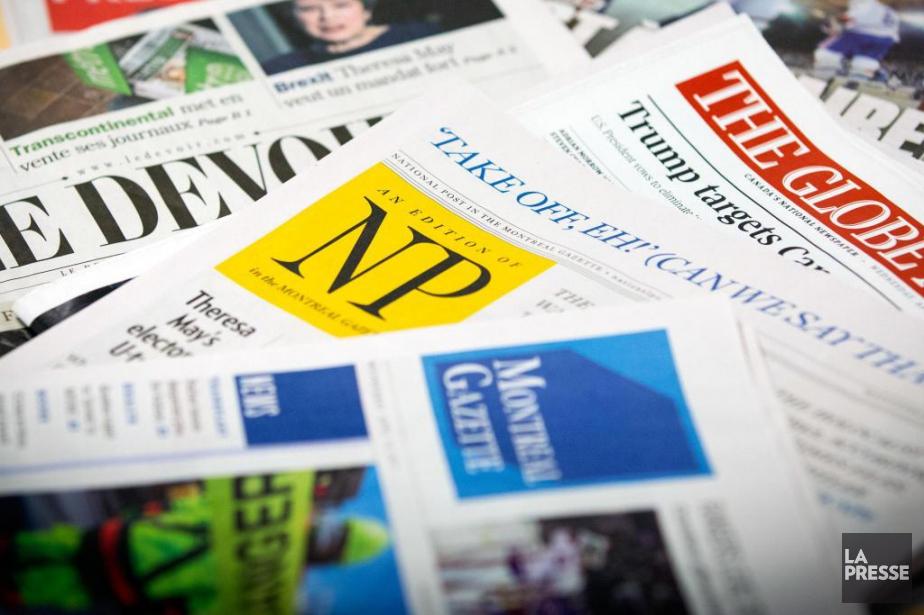 Aux prises avec des revenus publicitaires en baisse... (photo olivier jean, archives la presse)