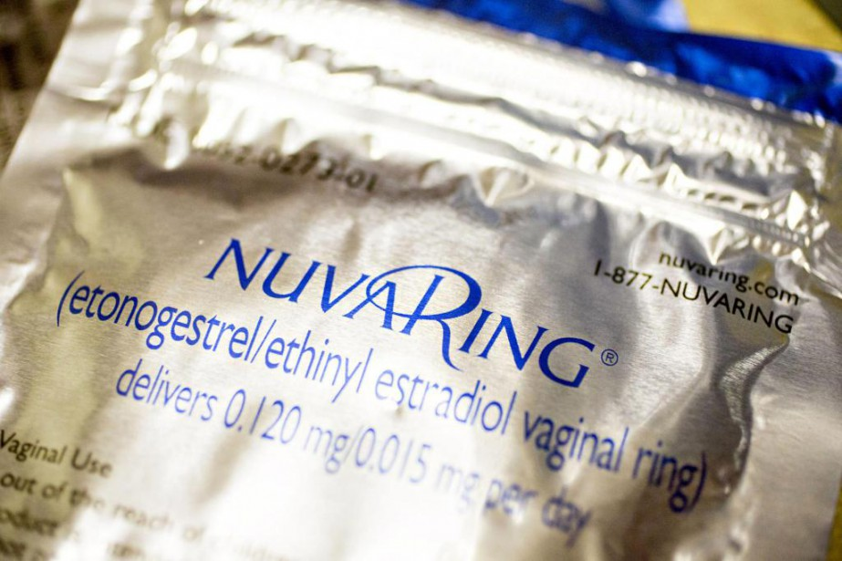L'anneau vaginal Nuvaring, de la société pharmaceutique Merck.... (Photo archives Bloomberg)