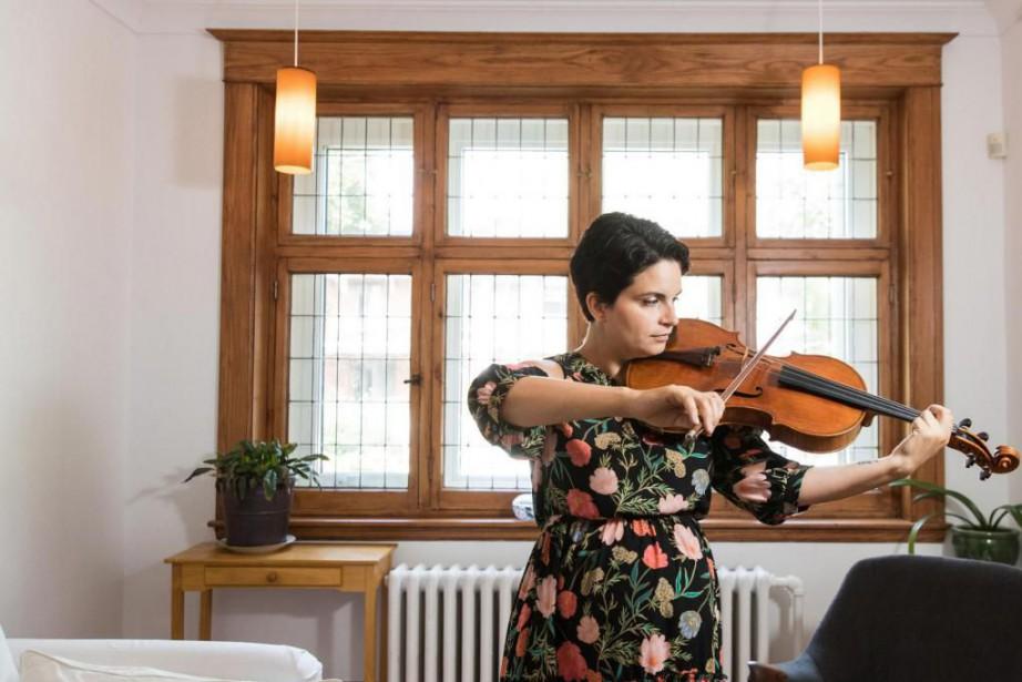 L'altiste virtuose Marina Thibeault... (Photo Hugo-Sébastien Aubert, La Presse)