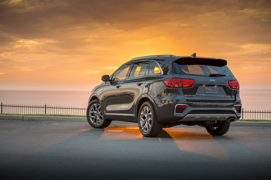 Le Kia Sorento 2019 (Photo fournie par Kia)