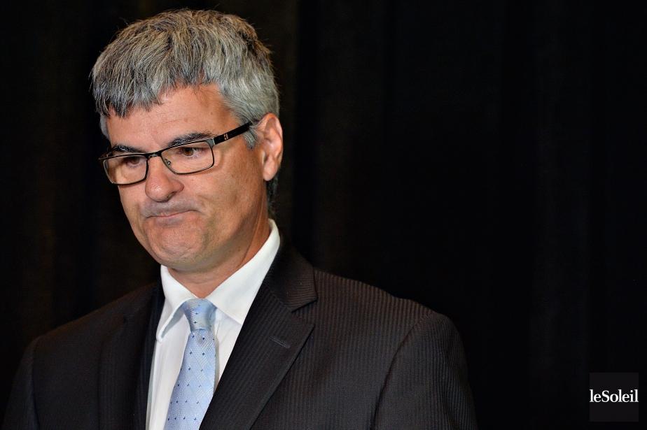 Éric Caire (photo), député de La Peltrie à... (Photo Patrice Laroche, Le Soleil)