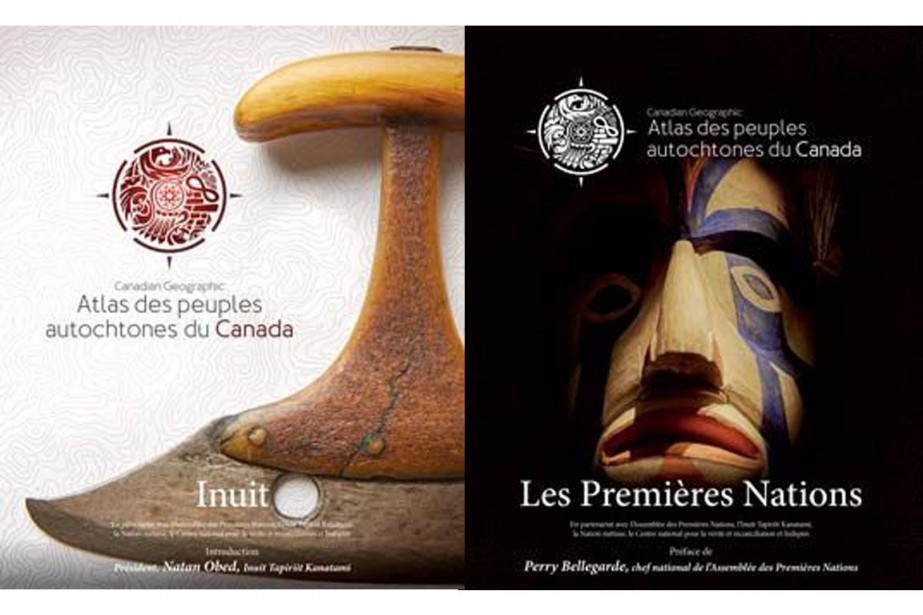 «L'Atlas des peuples autochtones du Canada» comprend quatre...