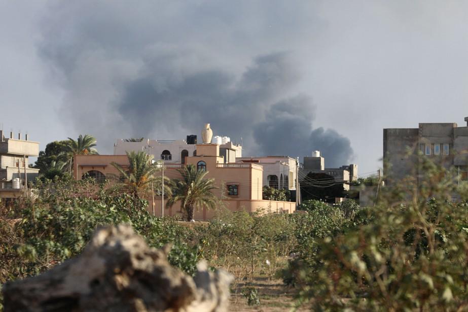La Libye a plongé dans le chaos après... (REUTERS)