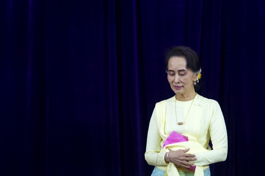Le Canada accordait à Aung San Suu Kyi... (Photo Ye Aung Thu, Agence France-Presse)