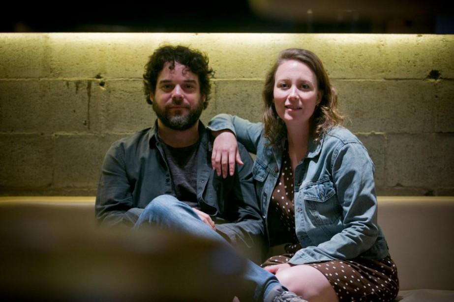 Isabelle Blais et Pierre-Luc Brillant ne connaissaient pas... (Photo François Roy, La Presse)