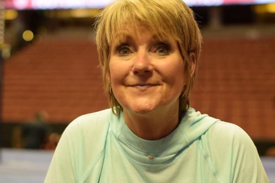 L'entraîneuse réputée de la gymnastique américaine,Mary Lee Tracy,avait... (photo tirée de youtube)
