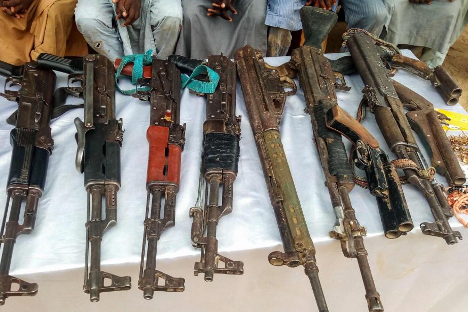 «Les insurgés sont arrivés en grand nombre dans... (Photo Audu Marte, AFP)