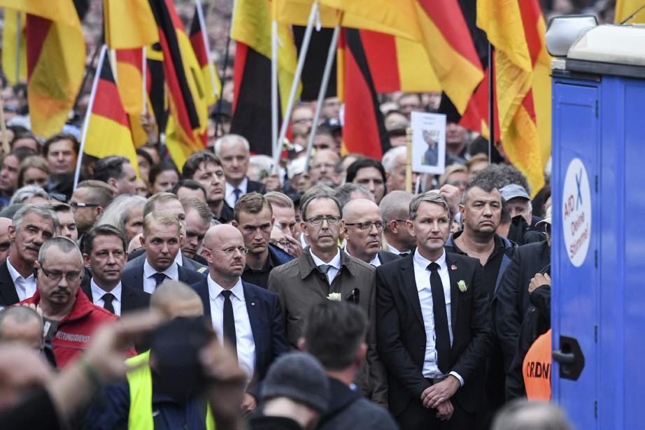 Les dirigeants du parti d'extrême-droite Alternative pour l'Allemagne... (Photo Ralf Hirschberger, AP)