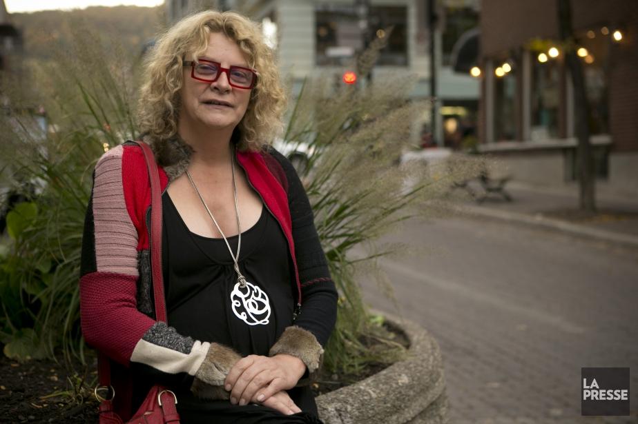 Michelle Blanc, qui se spécialise dans le numérique,... (Photo David Boily, La Presse)