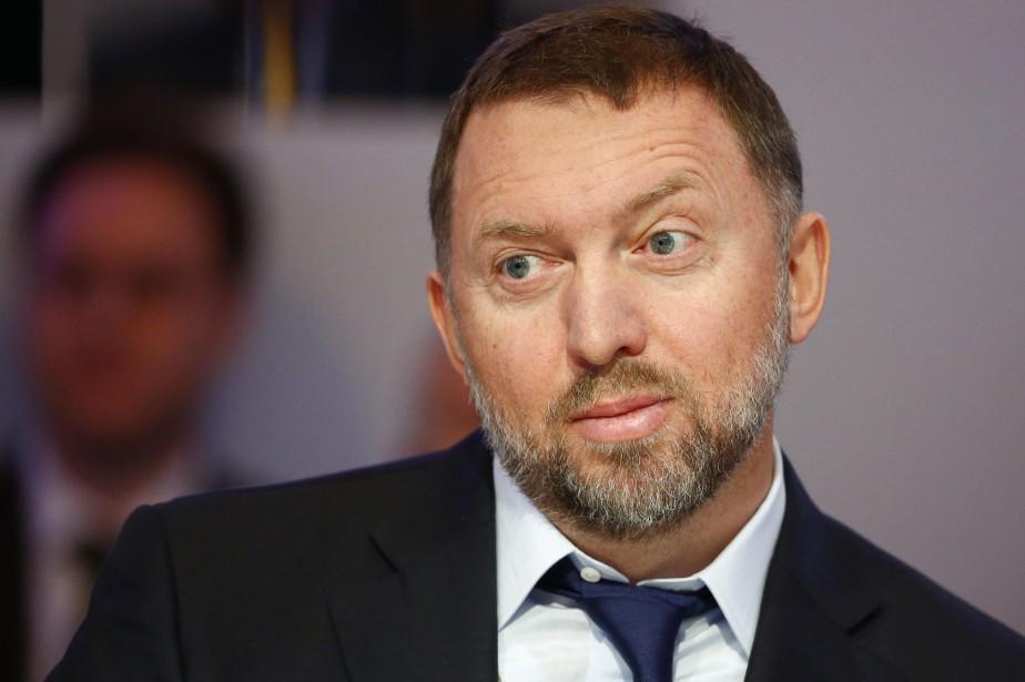L'oligarque russe Oleg Deripaska... (Photo Ruben Sprich, REUTERS)