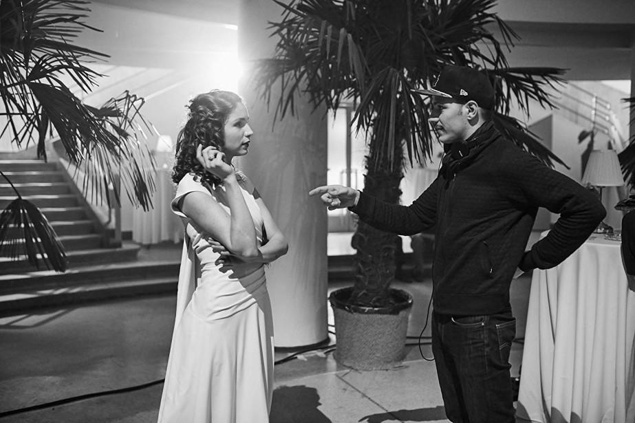 La comédienne Evelin Dobos et le cinéaste Tamas... (Photo Gabor Stiglincz, Juno11 Pictures, Halluci-Nation, via IMDB)