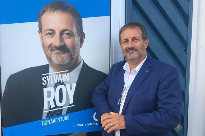 Âgé de 54 ans, Sylvain Roy est député... (Photo tirée de Facebook)
