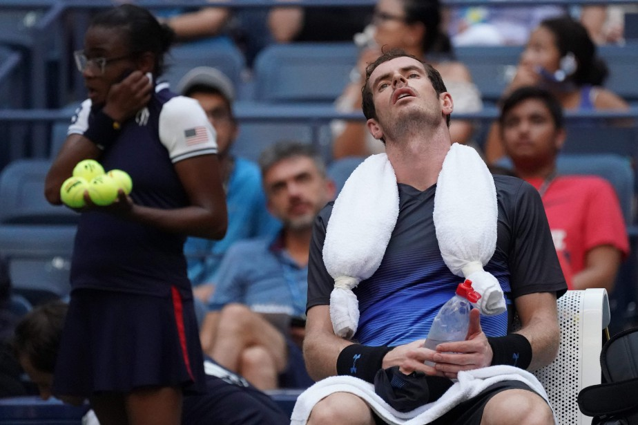 Andy Murray... (Photo Timothy A. Clary, AFP)