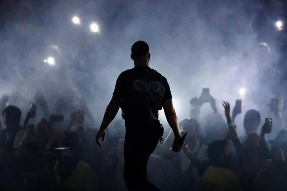 «Drake est un rappeur correct, pas un grand... (Photo Mark Blinch, archives La Presse canadienne)