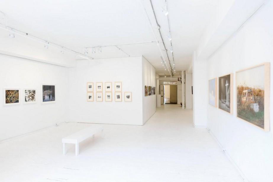 Dans l'édifice du Belgo, la galerie La Castiglione... (Photo Edouard Plante-Fréchette, La Presse)