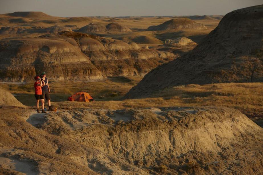 Niché non loin de la frontière du Montana,... (Photo fournie par le parc national des Prairies)