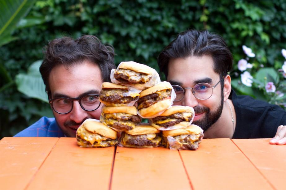 Thierry Rassam et Na'eem Adam, le duo derrière... (Photo Olya Krasavina, fournie par La Semaine du Burger)