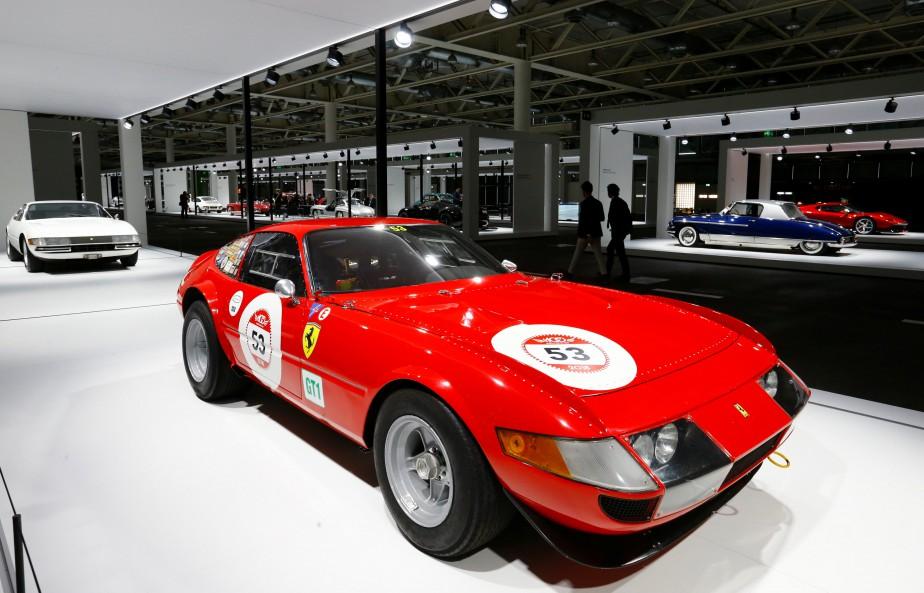 Une Ferrari 365 GTB 4 Daytona1971. (REUTERS)