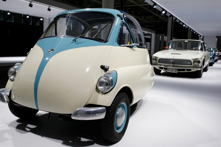 Une Isetta ovoïde des années 50. (REUTERS)